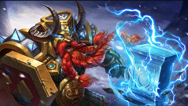 【新英雄】炉火铁锤-山丘之王