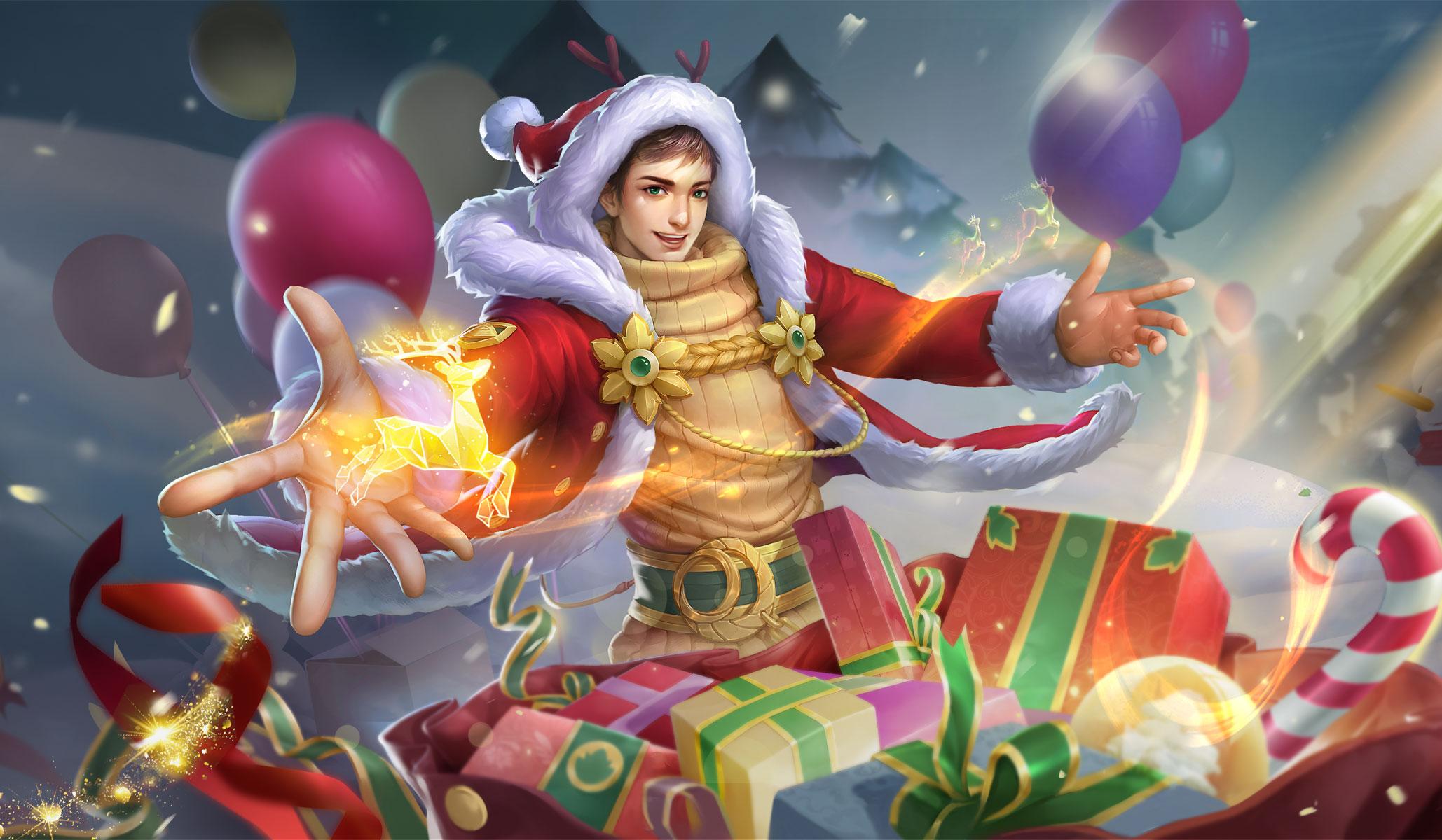 【新皮肤】图坦卡蒙-圣诞老人
